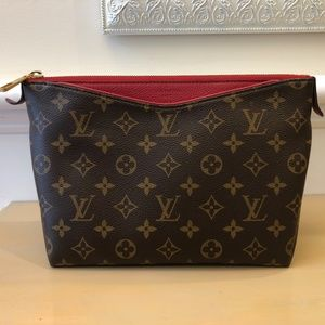 Louis Vuitton Pallas Brown and Red Monogram